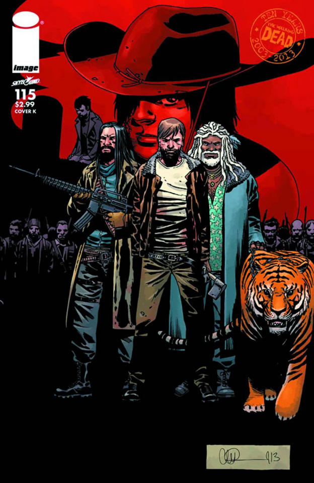 The Walking Dead #115 (Cover K)