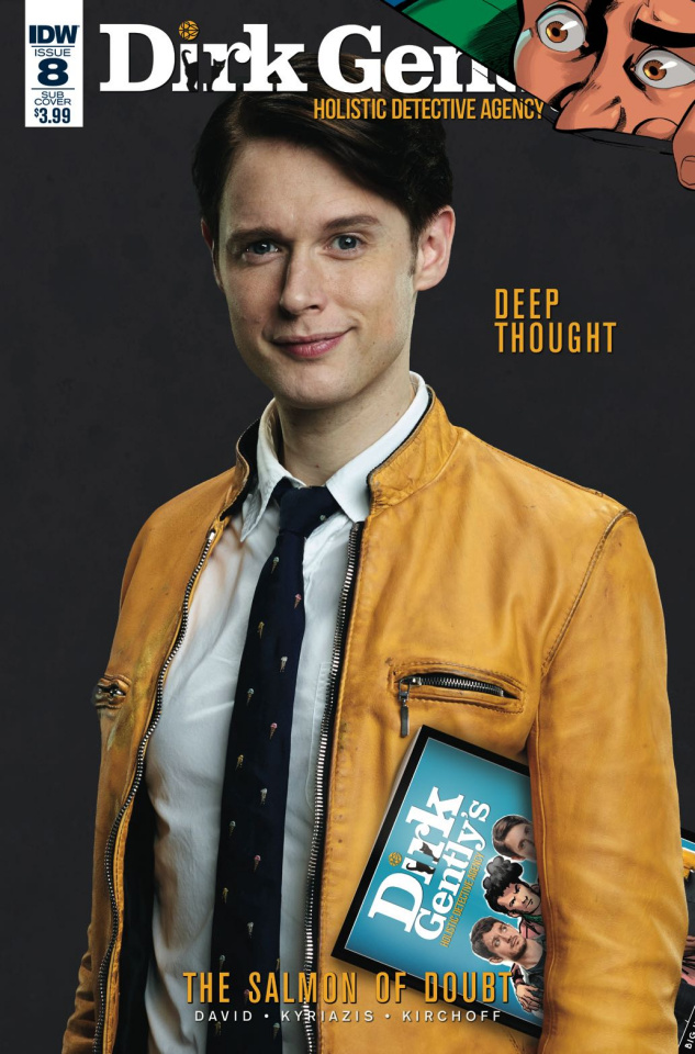 Dirk Gently's Holistic Detective Agency: The Salmon of Doubt #8 (Subscription Cover)