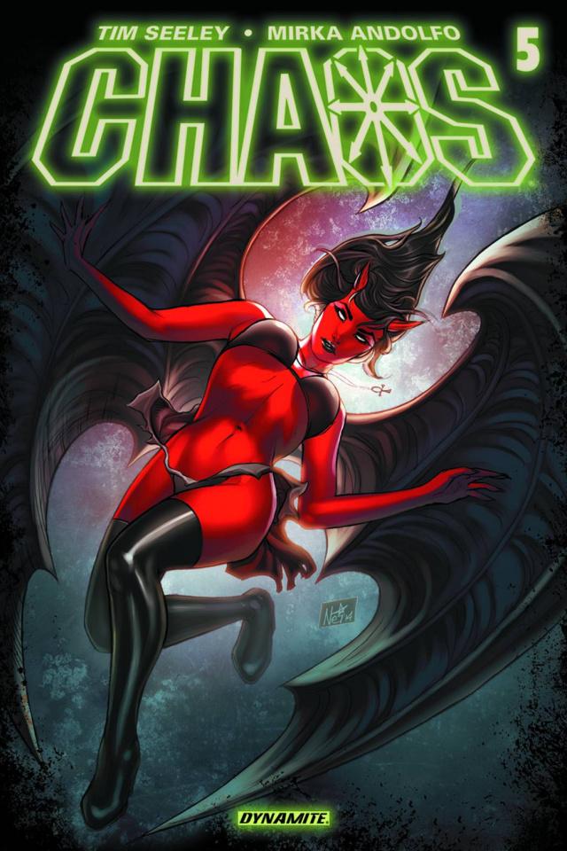 Chaos #5 (Ruffino Cover)