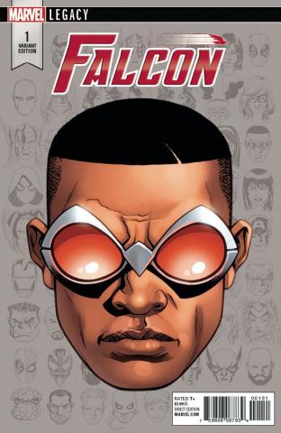 The Falcon #1 (McKone Legacy Headshot Cover)