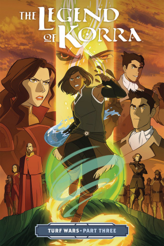 The Legend of Korra Vol. 3: Turf Wars, Part 3