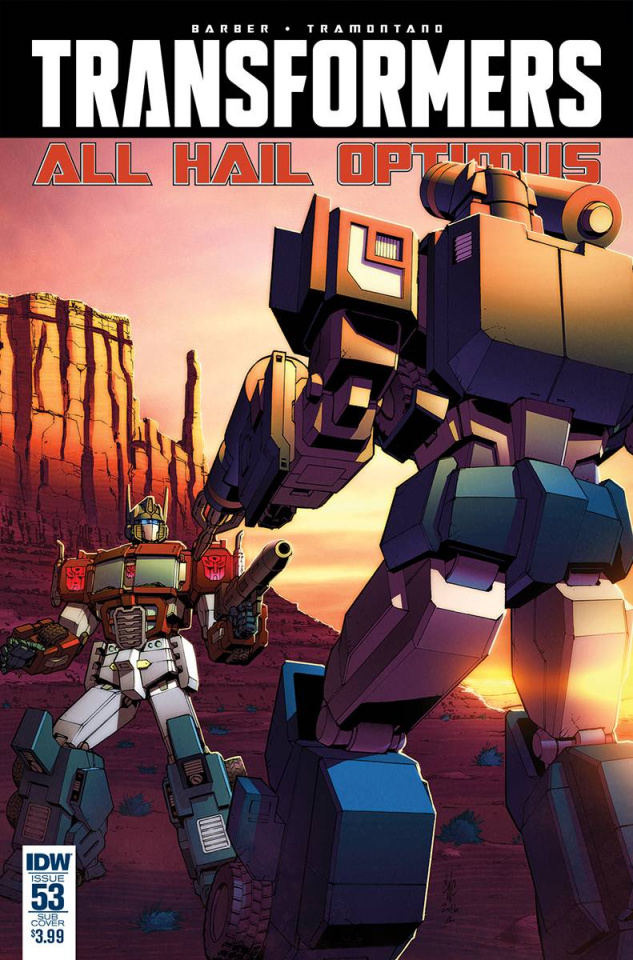 The Transformers #53 (Subscription Cover)