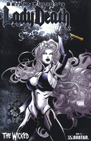 Lady Death: The Wicked #1/2 (Platinum Foil Cover)