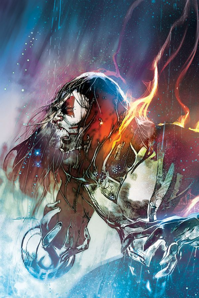 KISS: The End #4 (10 Copy Sayger Virgin Cover)