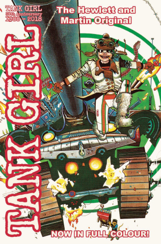 Tank Girl: Full Color Classics 1994-1995 (Hewlett Cover)