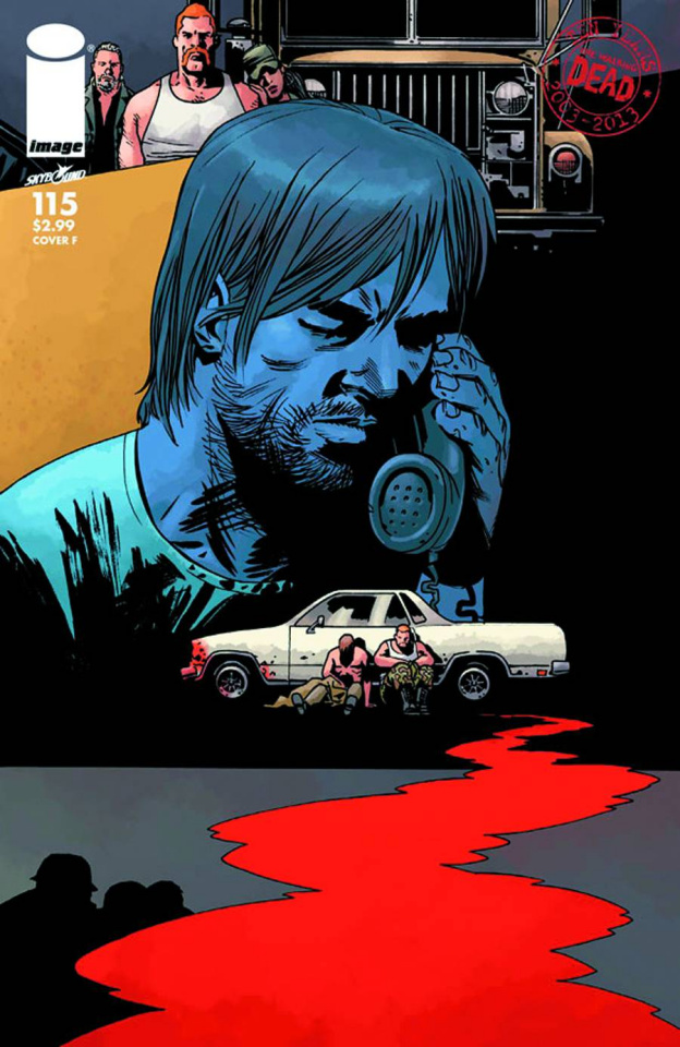 The Walking Dead #115 (Cover F)