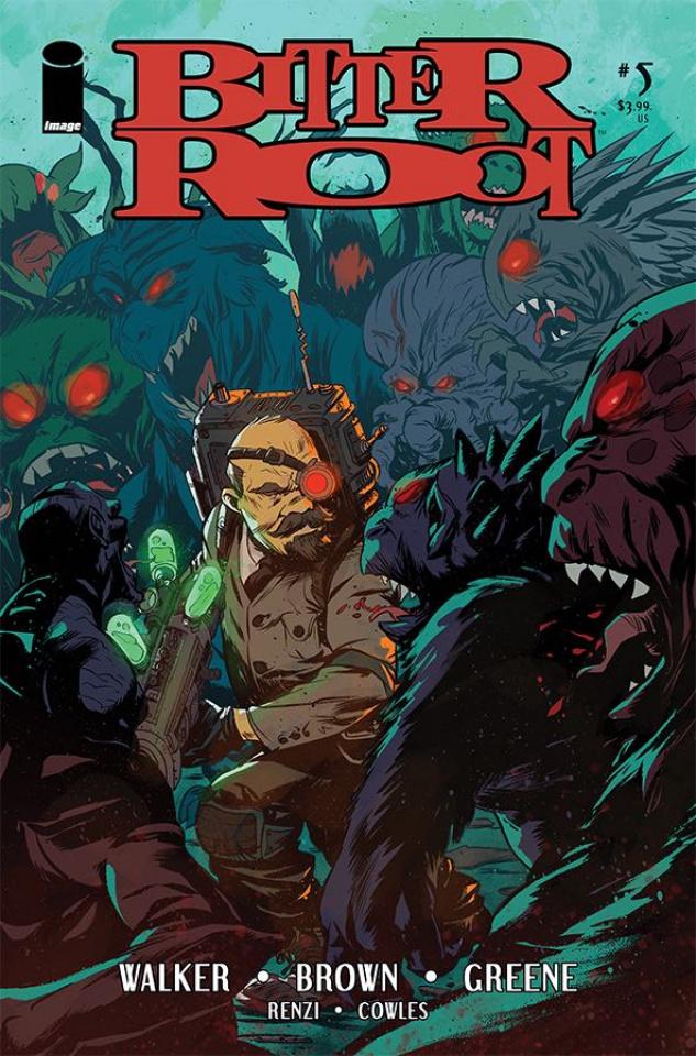 Bitter Root #5 (Greene Cover)