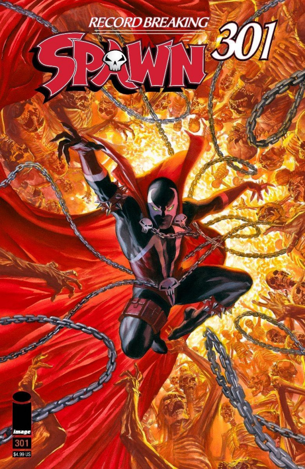 Spawn #301 (Ross Cover)