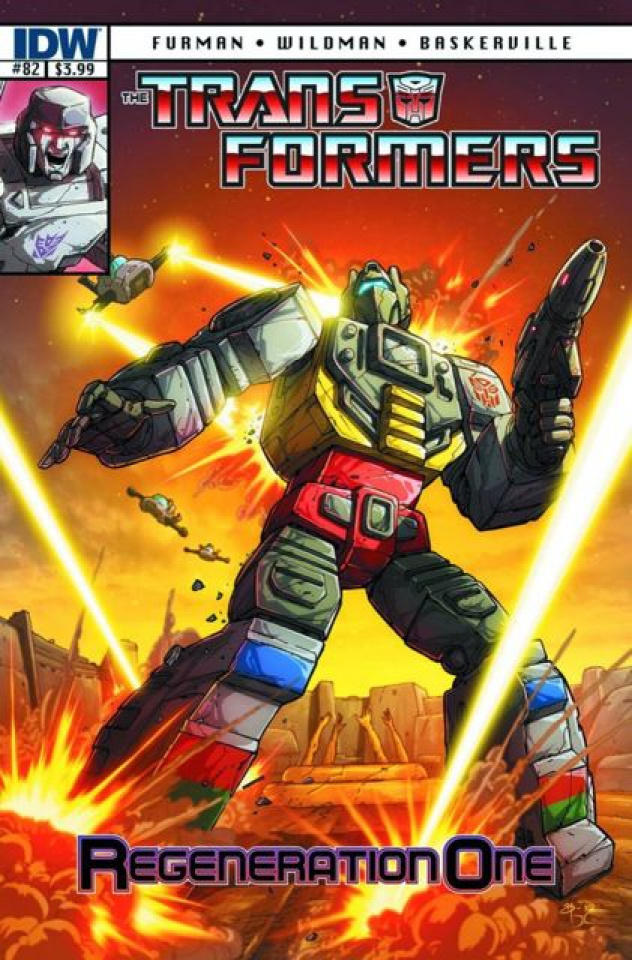 The Transformers: Regeneration One #82