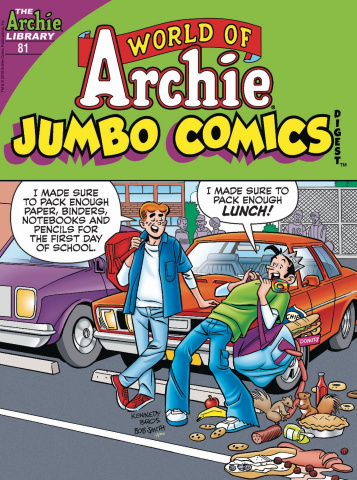 World of Archie Jumbo Comics Digest #81