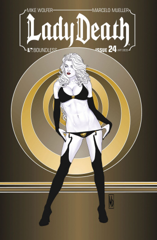 Lady Death #24 (Art Deco Variant Cover)