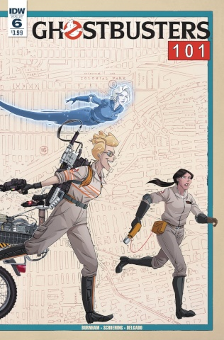 Ghostbusters 101 #6 (Schoening Cover)