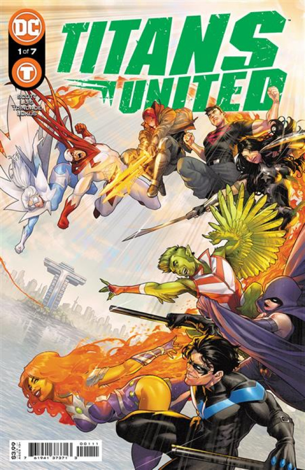 Titans United #1 (Jamal Campbell Cover)