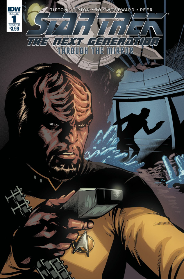 Star Trek: The Next Generation - Through the Mirror #1 (Johnson Cover)