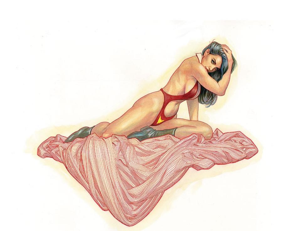 Vampirella #1 (Cho Wrap Virgin Cover)