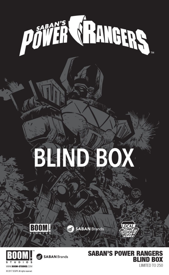 Power Rangers: Blind Box (Local Comic Shop Day 2017)