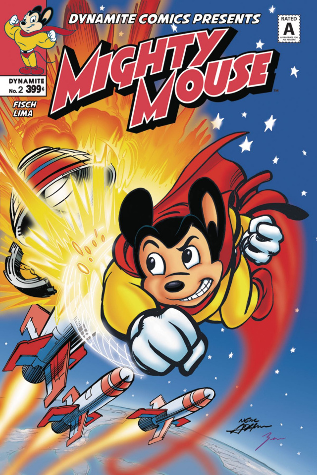 Mighty Mouse #2 (Adams Cover)