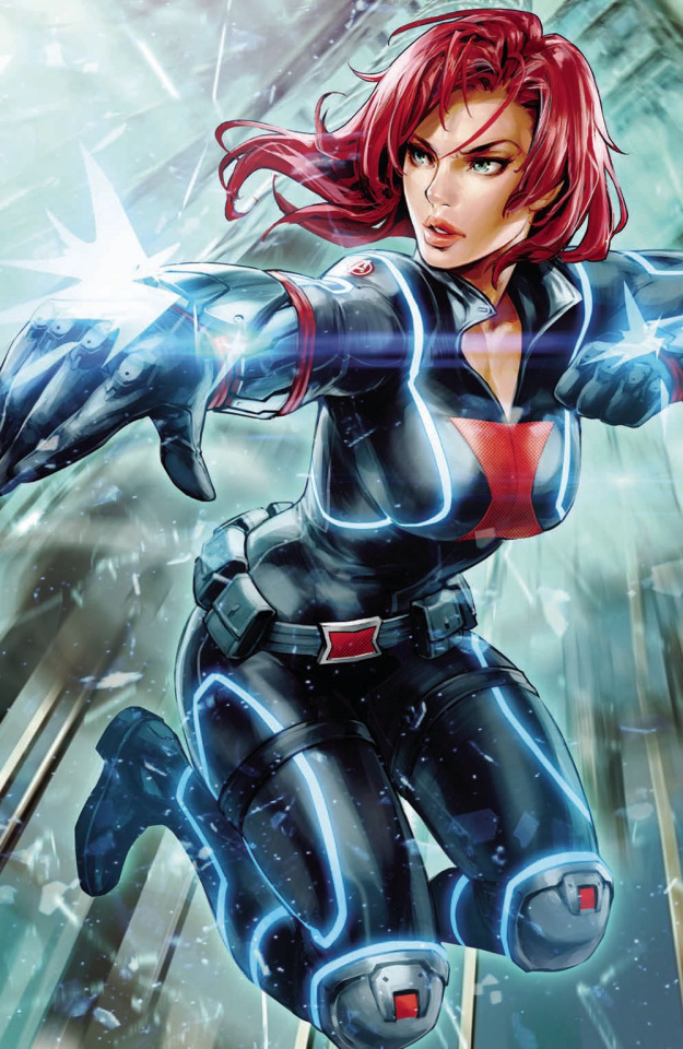 Black Widow #5 (K Lee Marvel Battle Lines Cover)
