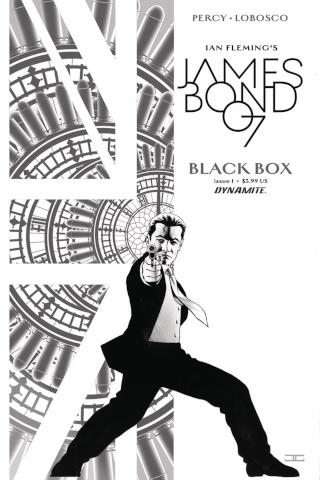 James Bond: Black Box #1 (40 Copy Cassaday B&W Cover)