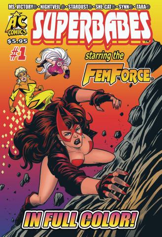 Superbabes Starring the FemForce #1