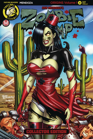Zombie Tramp: Origins #4 (McKay Cover)