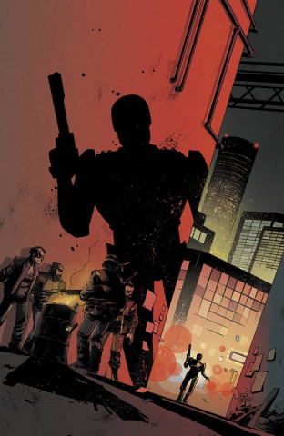 RoboCop #1 (Baltimore Con Cover)