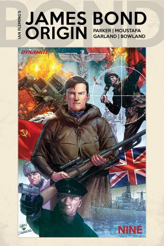 James Bond: Origin #9 (Gedeon Cover)
