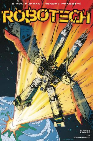 Robotech #16 (Roche Cover)