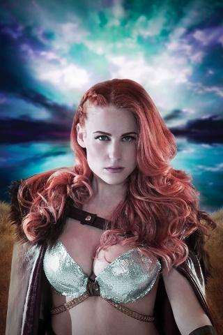 Red Sonja: Birth of the She-Devil #2 (30 Copy Cosplay Virgin Cover)