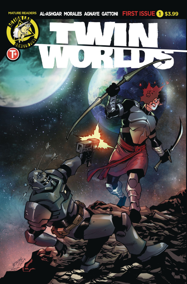 Twin Worlds #1 (Cover B)