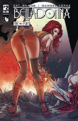 Belladonna: Fire and Fury #2 (Shield Maiden Cover)