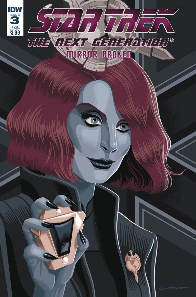 Star Trek: The Next Generation - Mirror Broken #3 (Caltsoudas Cover)