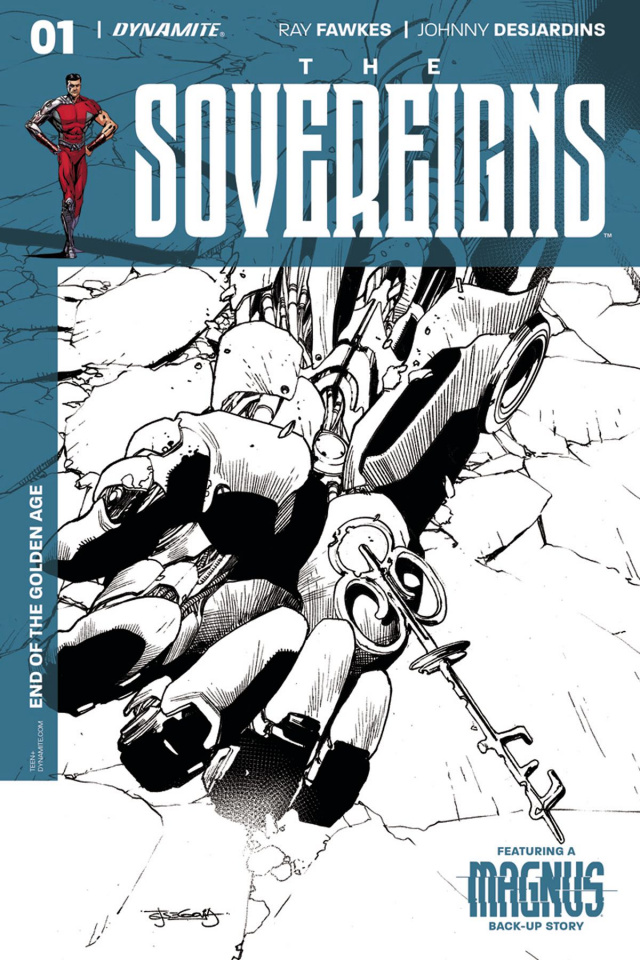 The Sovereigns #1 (10 Copy Segovia B&W Cover)