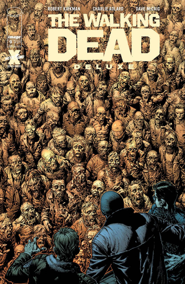 The Walking Dead Deluxe #9 (Finch & McCaig Cover)