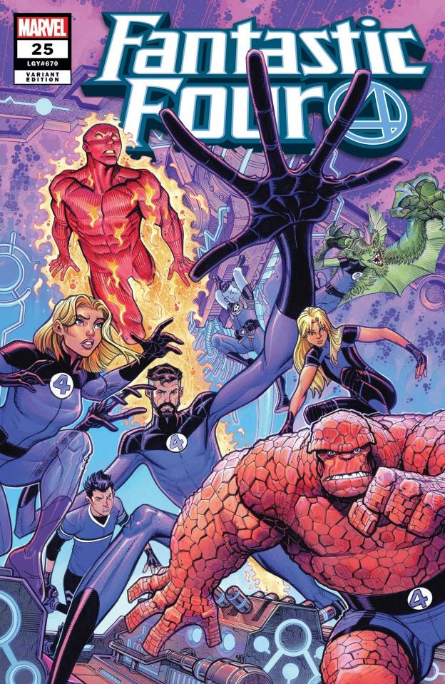 Fantastic Four #25 (Bradshaw Cover)