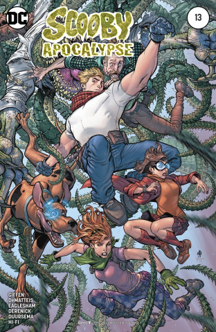 Scooby: Apocalypse #13 (Variant Cover)