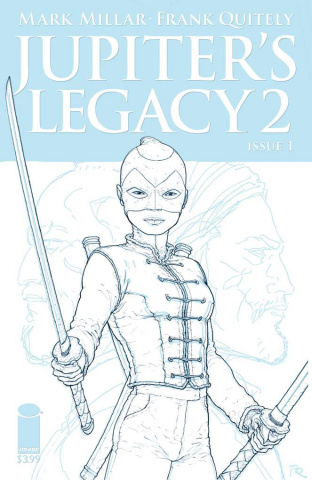Jupiter's Legacy 2 #1 (Quitely Sketch Cover)