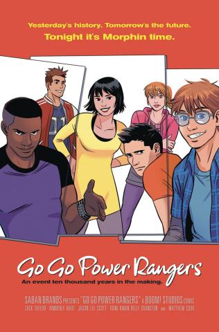 Go, Go, Power Rangers! #13 (25 Copy Bustos Cover)