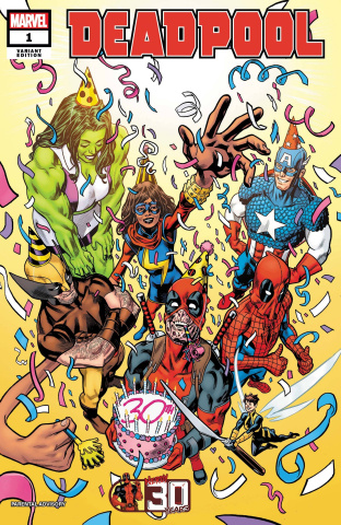 Deadpool: Nerdy 30 #1 (Hawthorne Cover)