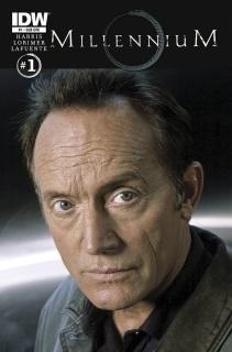 Millennium #1 (Subscription Cover)