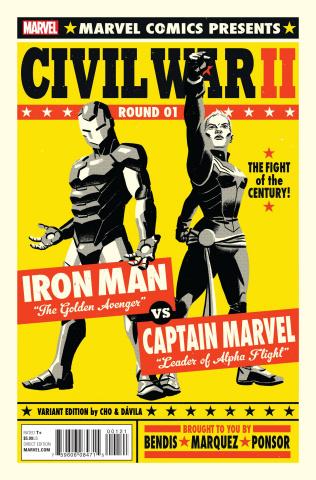 Civil War II #1 (Michael Cho Cover)