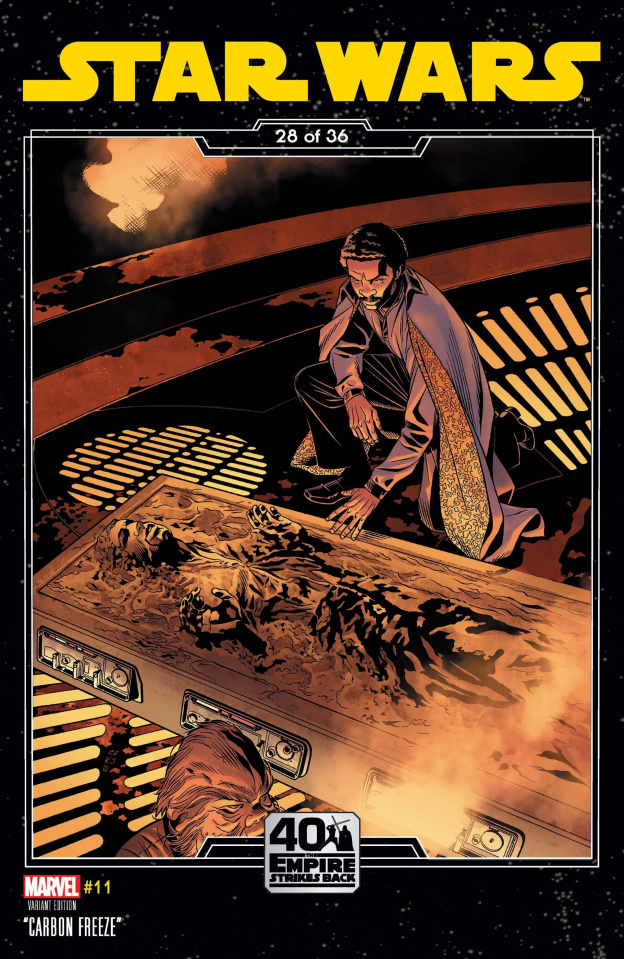 Star Wars #11 (Sprouse Empire Strikes Back Cover)
