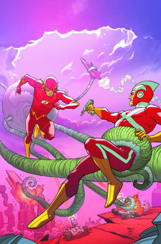 Justice League United #8 (Flash Cover)