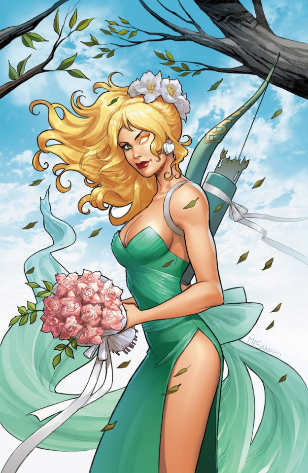 Grimm Fairy Tales: Robyn Hood Annual #1 (Sanapo Cover)