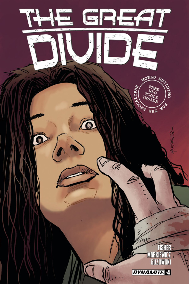 The Great Divide #4 (Markiewicz Cover)