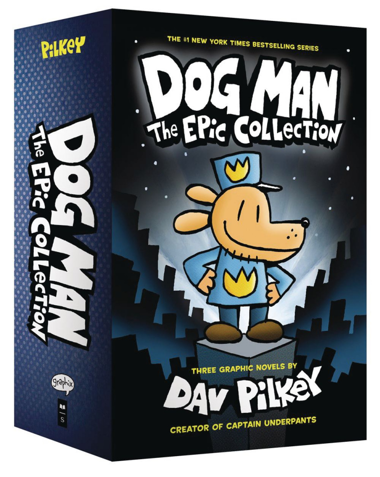 Dog Man Epic Collection Boxed Set