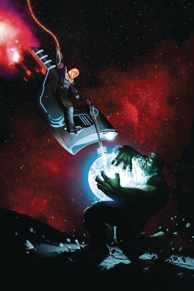 The Immortal Hulk #5 (Rahzzah Cosmic Ghost Rider Cover)