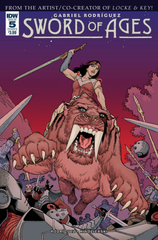 Sword of Ages #5 (Rodriguez Cover)