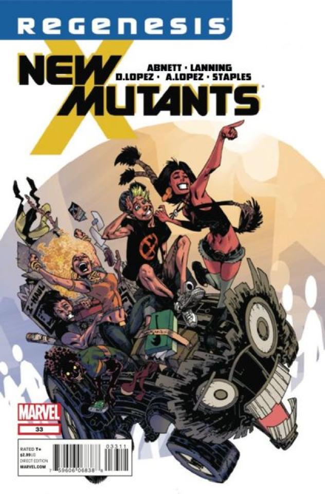 New Mutants #33