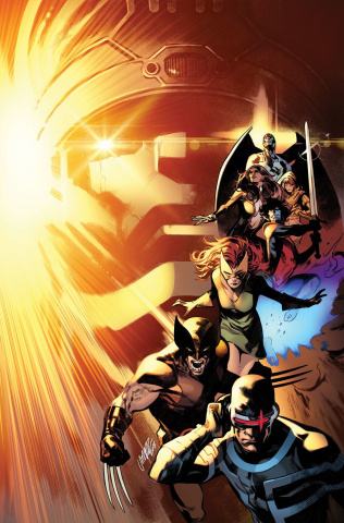 House of X #3 (Larraz Virgin Cover)
